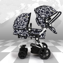 wellbaby twins before and after the two-child stroller high landscape can sit or lie Double fold  free delivery