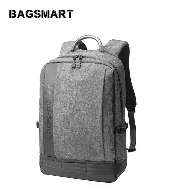 BAGSMART Men 14 Inch 15 Inch Laptop Notebook Computer Bags  Bolsa Mochila for Men School Backpack