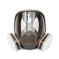 3M 6800+6005 Full Facepiece Reusable Respirator Filter Protection Mask Respiratory Organic gases&Vapors/Formaldehyde LT0417