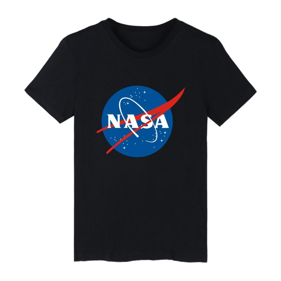 Classic NASA logo men t-shirt