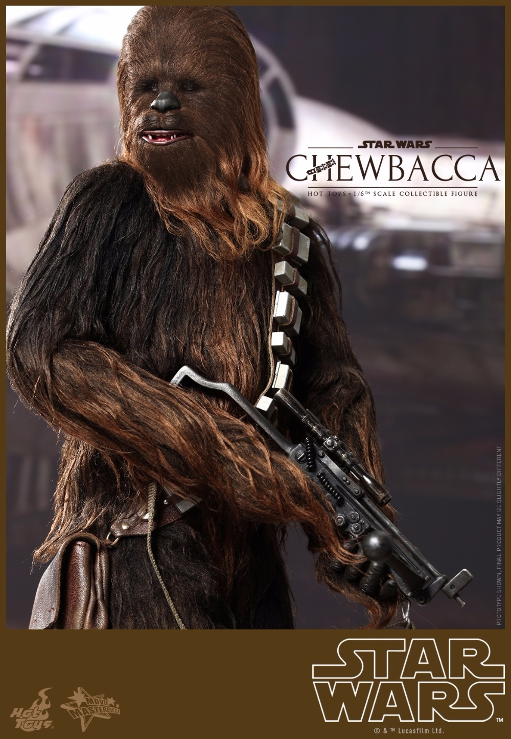 1/6 scale film figure doll Star Wars Episode IV A New Hope Chewbacca 12 action figure doll Collectible model plastic toys аксессуары для акустики episode es 500 iwlcr 6
