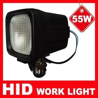Спрятал работы свет 12В 55ВТ 6000К широкий наводнение грузовик Н3 Ксеноновые работа свет потока рабочей лампы авто фары