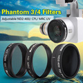 DJI Phantom 4 filter Phantom 3 filter waterproof coating ND Light can be reduced and ajusted CPL polarizing filter UV threaded