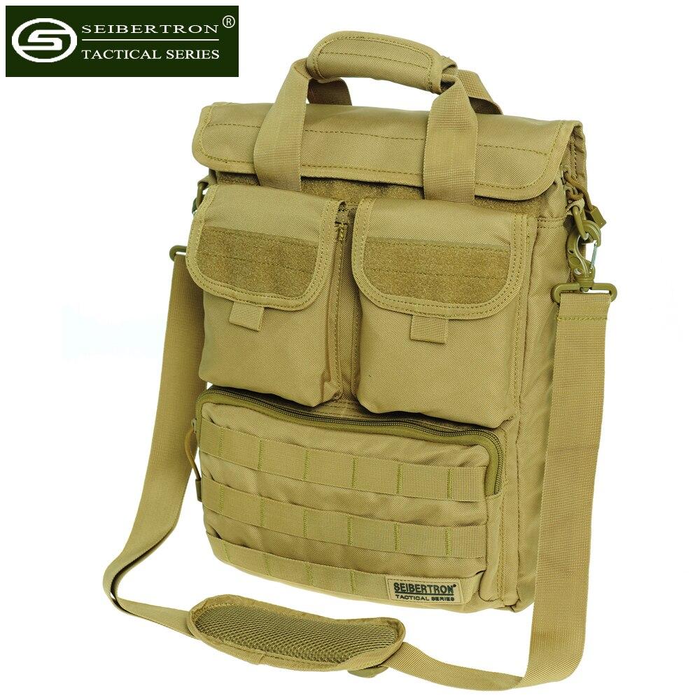 """Nylon Military Tactical 10/"""" Laptop Messenger Shoulder Bag Briefcase Tote Handbag"""