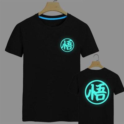 Dragon Ball Super Saiyan Fluorescent T-shirt