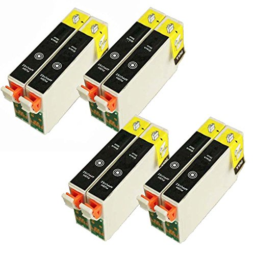8x T0711 Black Compatible Ink Cartridge Replace to Epson D120 D78 D92 DX4000 DX4050 DX4400 DX4450 DX5000 DX5050 DX6000 DX6050