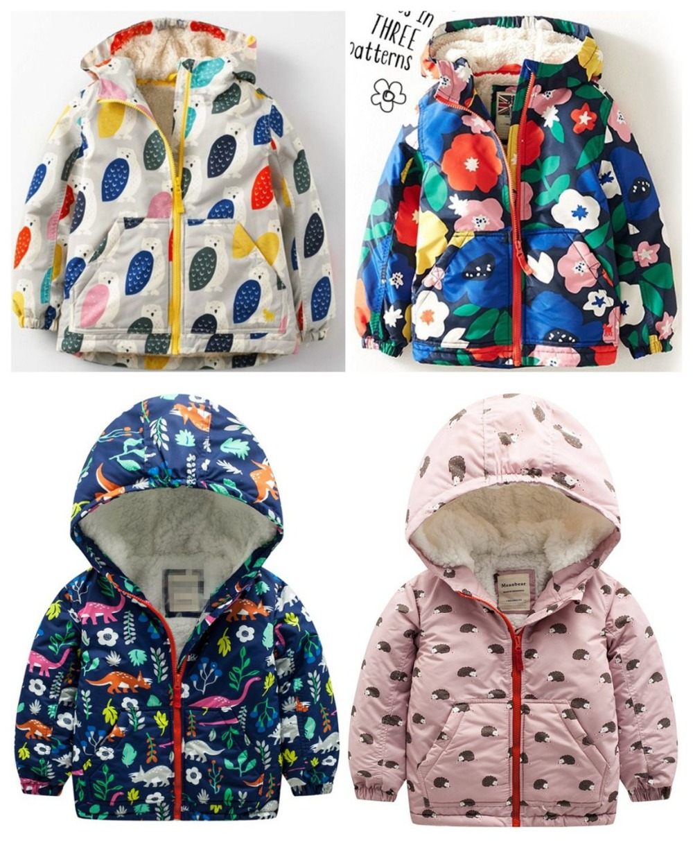 2018 New Arrival Limited Full Private And Velvet With Thick Cotton-padded Jacket Baby Windbreaker Coat With Clothes Charge pregnant women of han edition easy to film a word long woman with thick cotton padded clothes coat quilted jacket down jacket