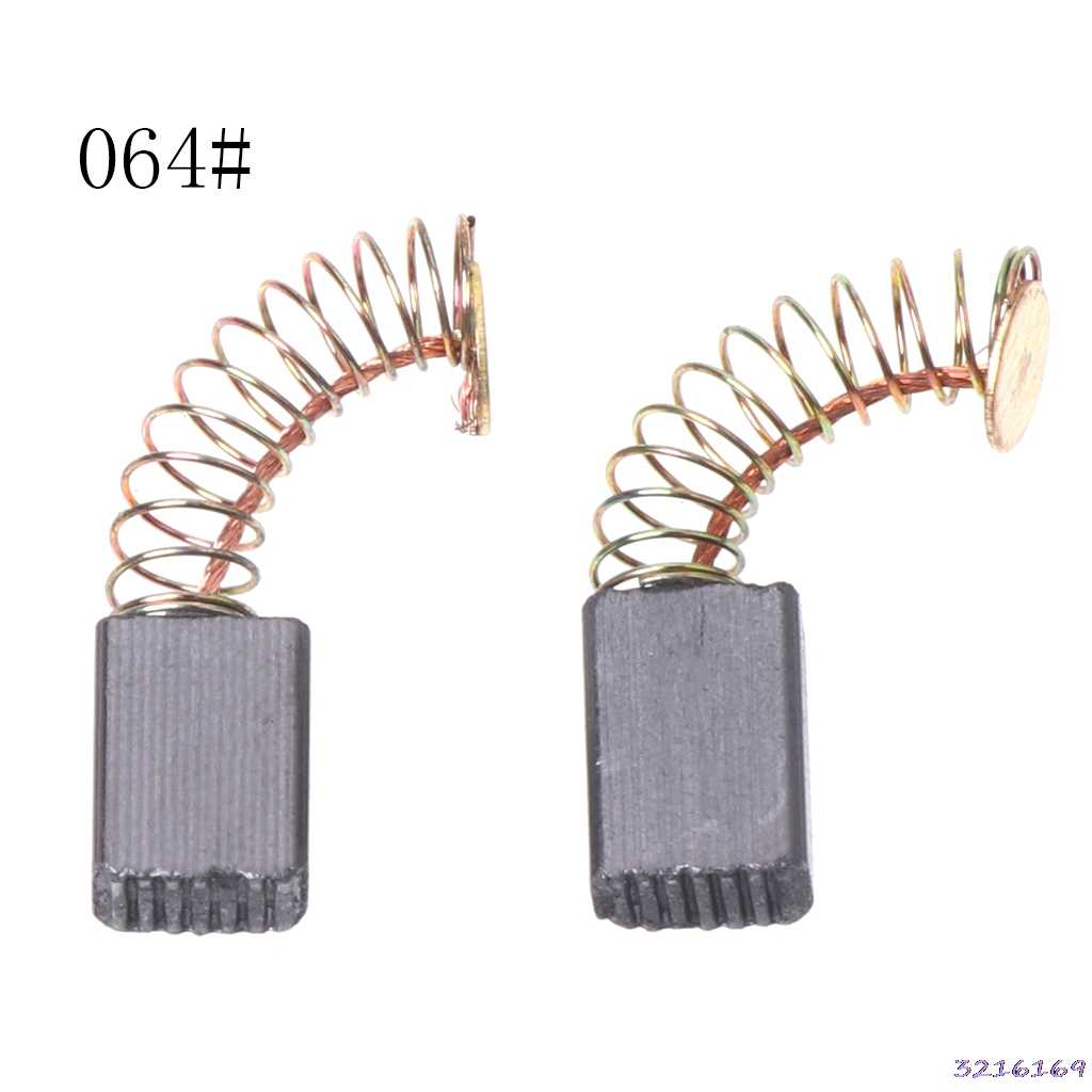 2Pcs Electric Drill Carbon Brush Spare Part For DEWALT /for BOSCH/for MAKITA ElectricTool 5X8X10 mm