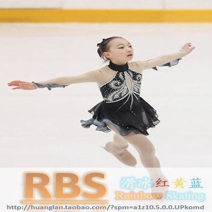 Vestido de la competencia de patinaje sobre hielo envío gratis - Ropa deportiva y accesorios