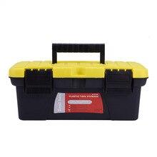 AUMOHALL Plastic Toolbox Portable Hand Carry Car Repair Tool Storage