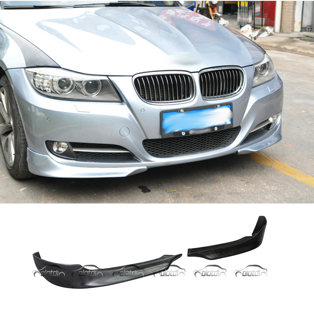 Splitter For PERFORMANCE Style Car Styling PU Material Front Pieces Lip Bumper Spoiler For BMW E90 LCI 2009-2011 автомобильное зарядное устройство 1 usb 2 1a кабель 8pin micro usb usb df autotor 01