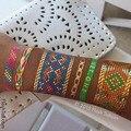 4 hoja verano chispa colorido destello metálico tatuaje temporal
