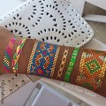 4Sheets Summer Sparkle Colorful Metallic Flash Temporary Tattoo