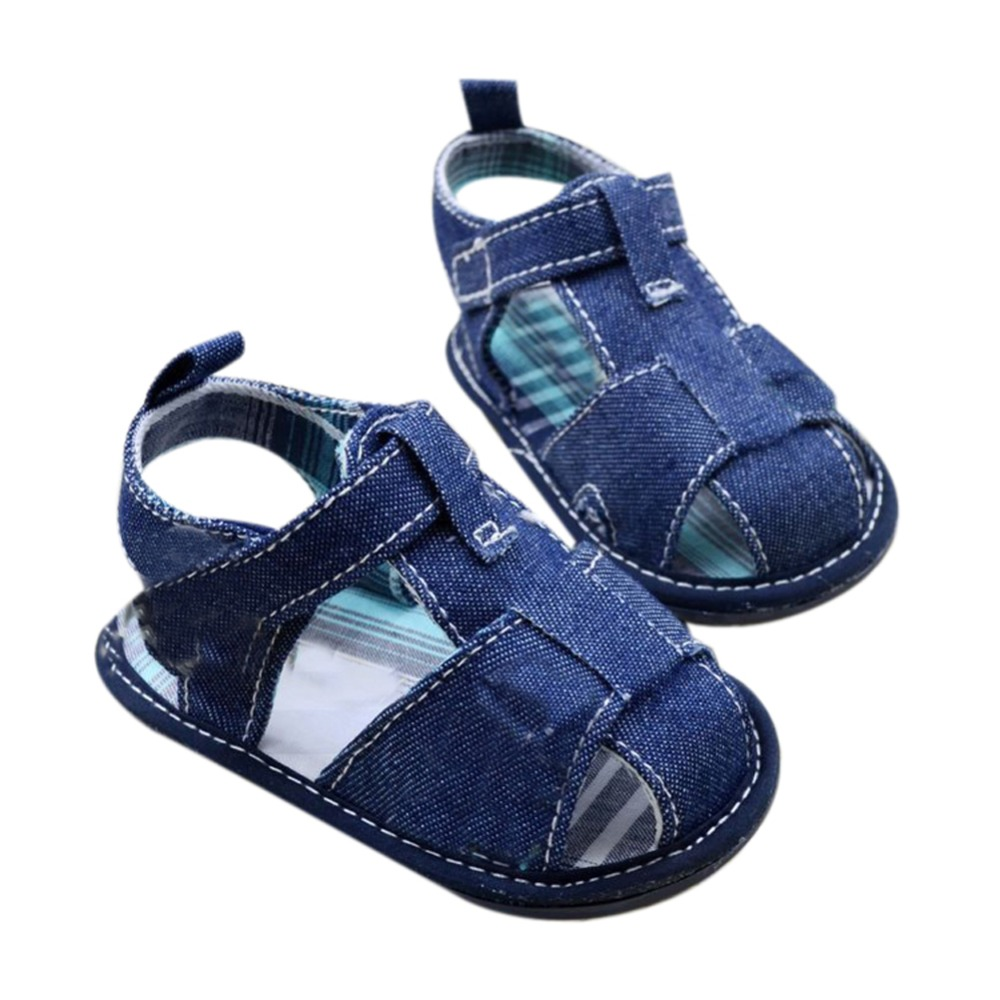 Aliexpress.com : Buy Jean Style Newborn Baby Shoes Boy ...