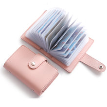 Cute 26 Slots Card Holder Wallet Women Lovely Card Organizer Wallet Creditcard Holder Dutch Travel Wallet for Credit Cards(China)