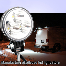 1pcs 3 Inch 9W LED Work Light 12V Spot for Indicators Motorcycle Offroad Boat Tractor Truck 4WD 4x4 SUV ATV Car Driving Fog Lamp