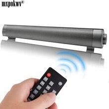 купить New Wireless Bluetooth Subwoofer Mini MP3 TF Card Speaker Louderspeaker Stereo Super Bass 10W Sound Bar Remote Control For TV PC дешево