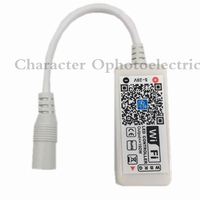 5PCS Wifi LED RGB Controler DC12V MIni Wifi RGB / RGBW LED Controller for RGB / RGBW LED Strip