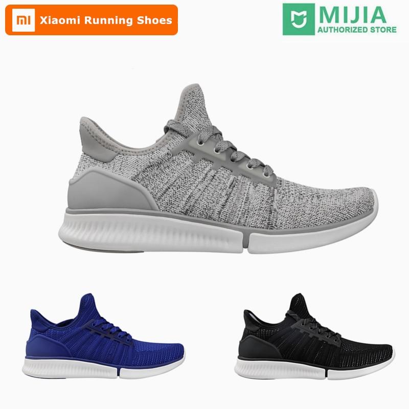 Hot Original Xiao mi mi jia hommes intelligents chaussures de course en plein Air Sport mi homme baskets Amazfit Air maille Zapatillas Hombre Mujer