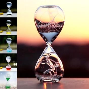 マジックガラスバブル砂時計オフィスアクセサリー子供砂時計女の子部屋の装飾アクセサリー学生の机のためのギフトТахеометр