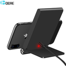 DCAE Qi Wireless Charger 10W For iPhone X 8 Samsung S8 S9 Plus Xiaomi mix 2s Phone Fast Wireless Charging Docking Dock Station