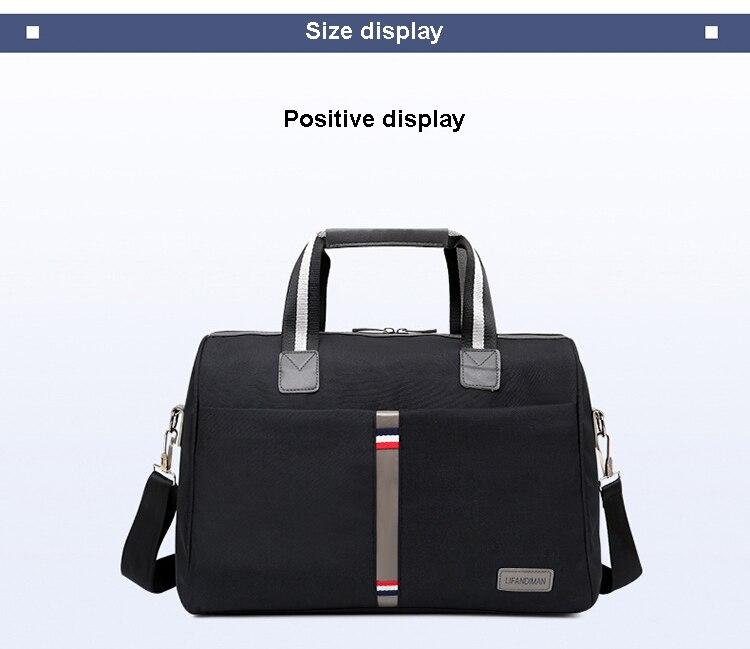 Topdudes.com - Large Capacity Foldable Waterproof Travel Shoulder Bags