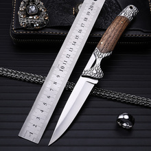 2016 Real Exquisite High Quality Outdoor Self-defense Folding Knife Mini Pocket Knives Practical And Beautiful Craft Best Gift