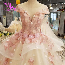 AIJINGYU تركيا فستان الزفاف فساتين الهندي شير رداء أم العروس في حفلة اثنين في واحد ثوب صغير فساتين الزفاف