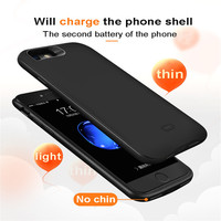 Free shipping 3800mAh battery for Iphone 6 plus/6sp Portable Backup External Battery Charger Case Power Bank