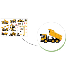 Construction Style Wall Sticker