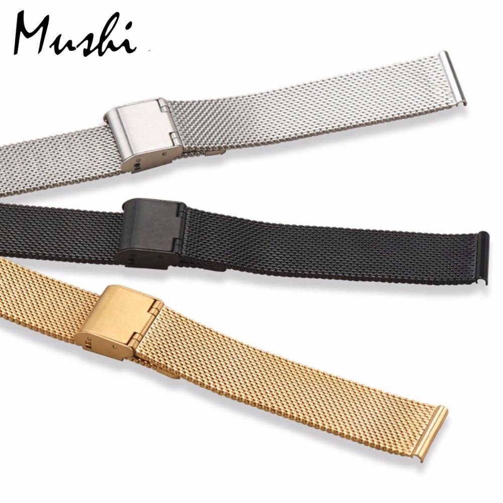 Milanese Stahlarmband für DW Armband Armband Silber Edelstahlarmband - Uhrenzubehör - Foto 4