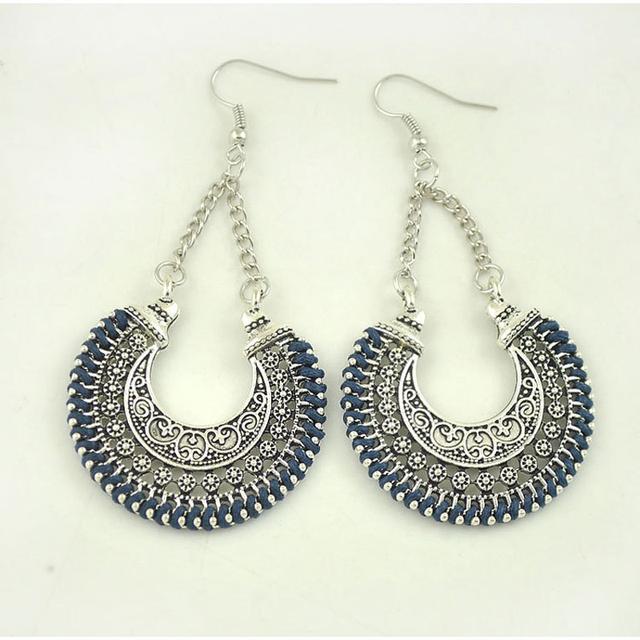 Fashion Moon Earrings Native style