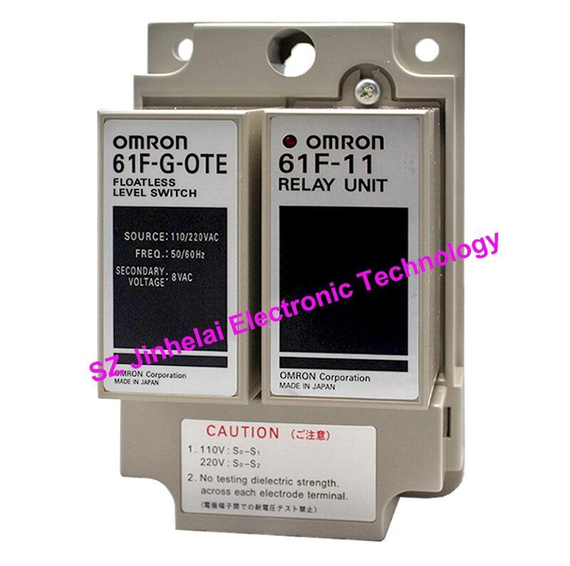 Nouveau et original 61F-G-OTE 110/220VAC OMRON interrupteur de niveau de liquide 61F-G-0TE AC110/220 V pas de relais de niveau de liquide à flotteur