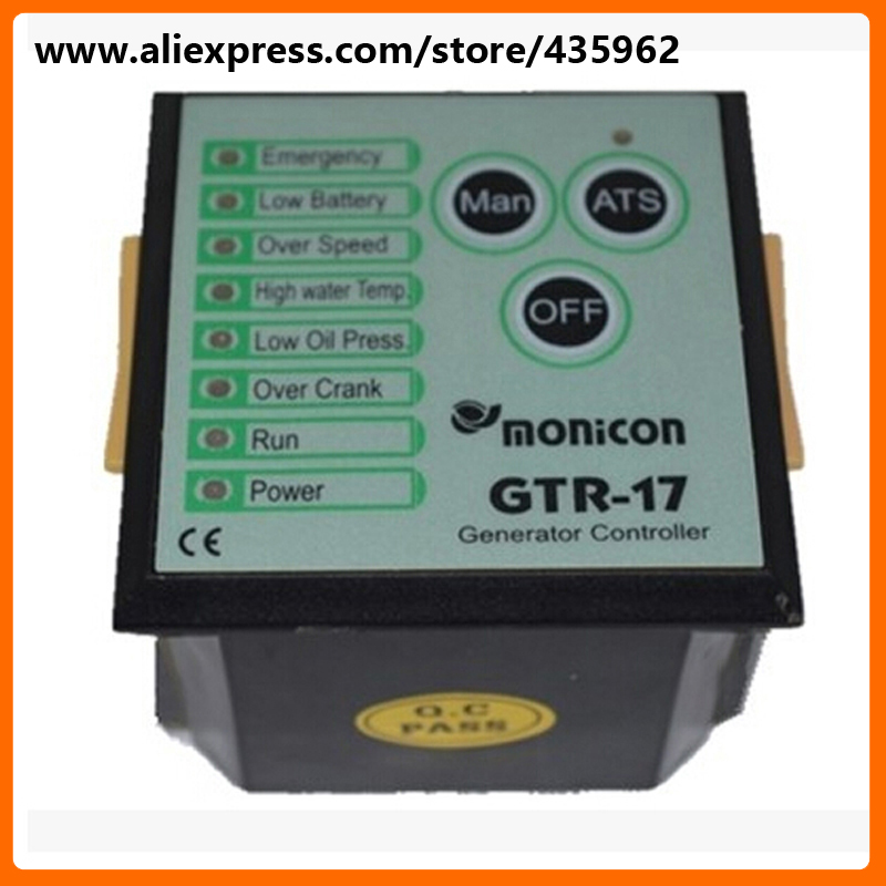 GTR17 Generator Controller for Diesel Generator Set deep see controller high quality free shipping deep sea generator set controller module p5110 generator control panel replace dse5110