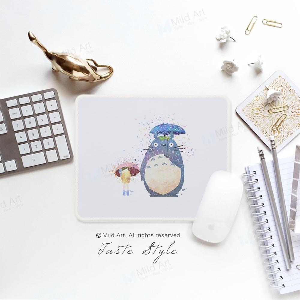 Поп японского аниме Миядзаки Симпатичные акварель Тоторо Книги по искусству принты Kawaii Творческий подарок малышей ПК Latptop игровой компьюте... ...