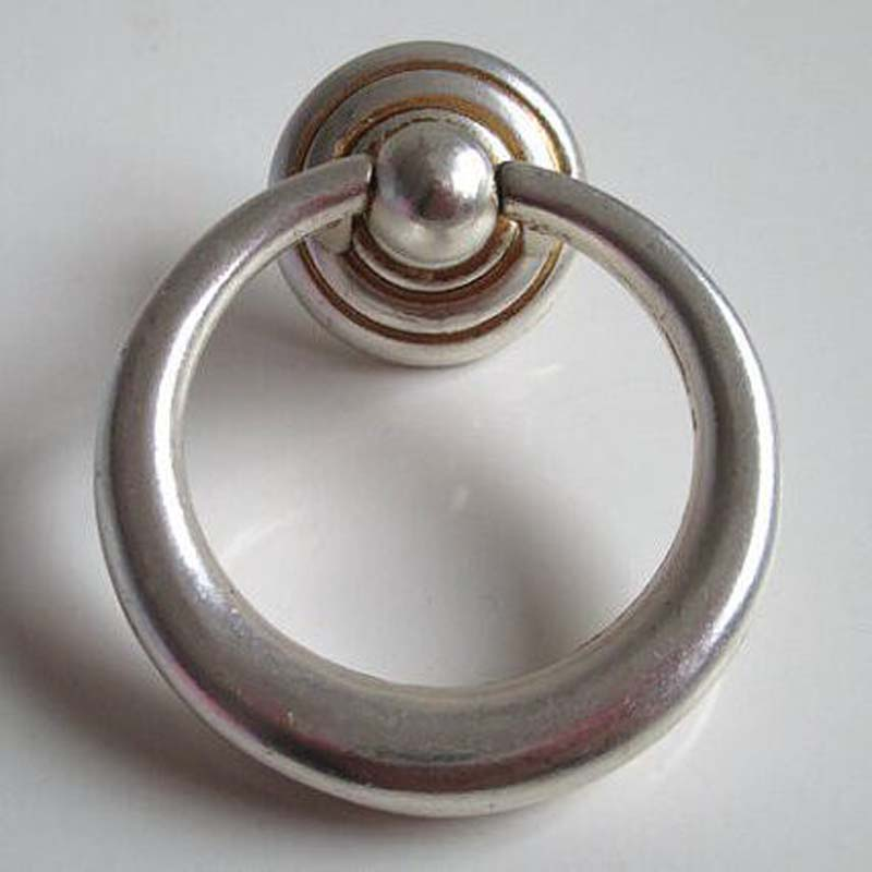 Antique Distress Silver Shaky Drop Rings Furniture