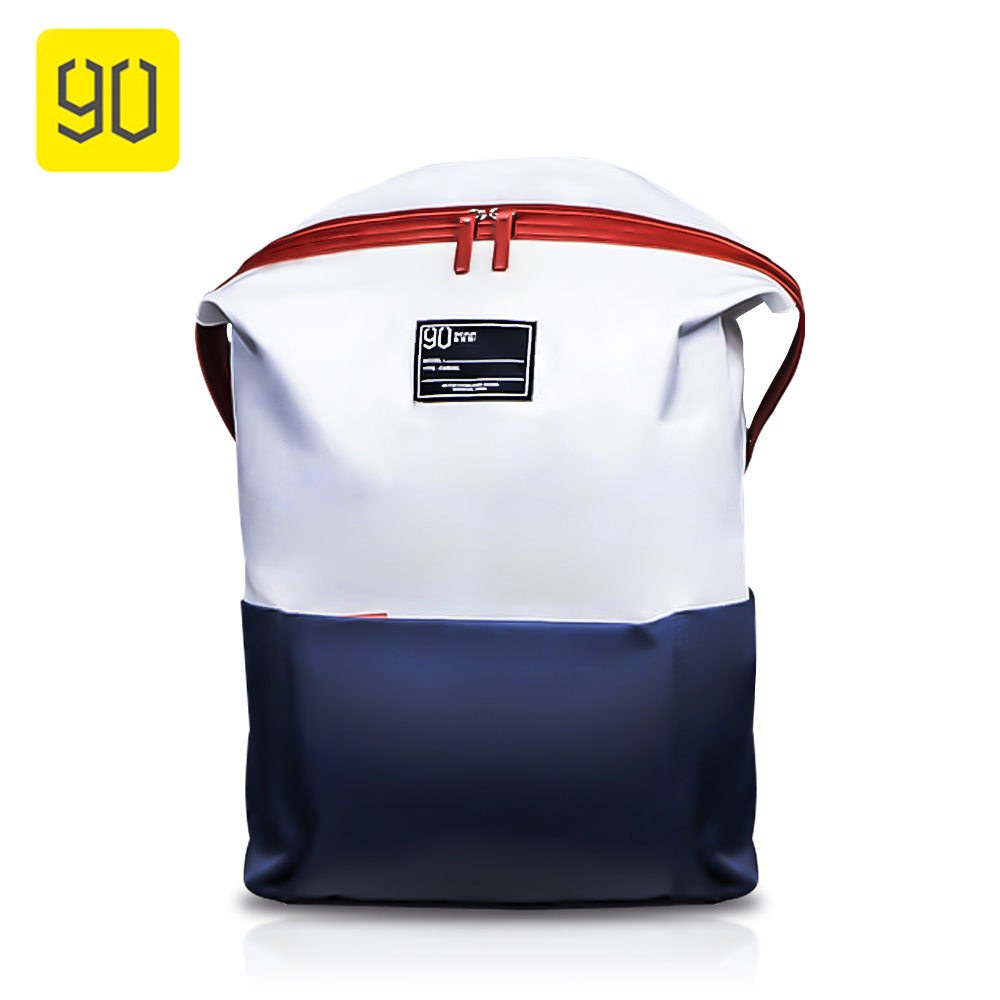 New Xiaomi 90 Fun Lecturer Leisure Nylon Backpack Urban Simple Style Waterproof Bag Large Capacity Travel School 13.3inch Laptop
