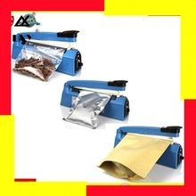 Impulse Sealer, Heat Plastic Bag Sealing Machine, Hand Press Heating Sealer Film F-200 Free Shipping