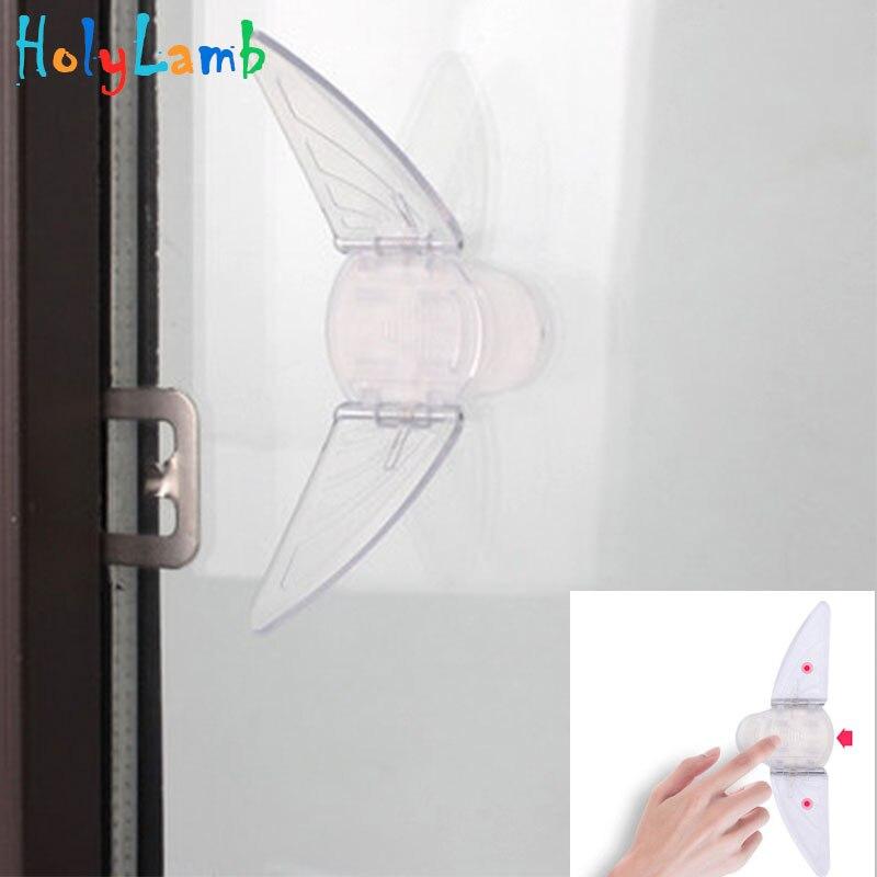 1Pcs Child Lock Baby Safety Door Cabinet Lock Children Protection Kids Drawer Locker Security Locks Child Safety Window Stopper