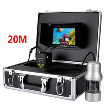 7 inch monitor 20M Cable 360 Degree View Underwater Fishing Camera System Remote Control Fish Finder Express Shipping(China)