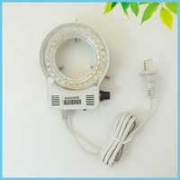 64mm Inner Diameter UV LED Ring Light Brightness Adjustable LED Ring Lamp for Microscope Illumination