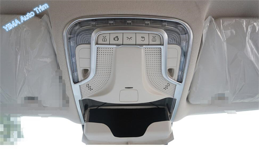For Mercedes-Benz Vito W447 2014 2015 2016 2017 ABS High Quality Front Roof Reading Dome Courtesy Light Lamp Frame Cover Trim