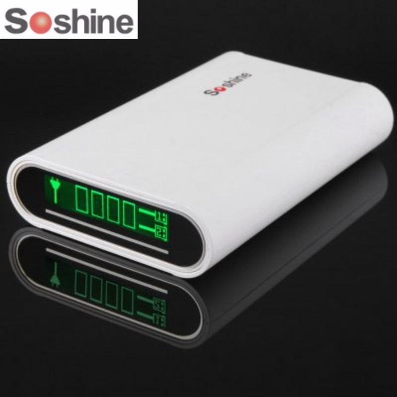 SoShine E3 4x18650 Banco Portable para el iPhone para Samsung móvil USB accesorios de iluminación portátil