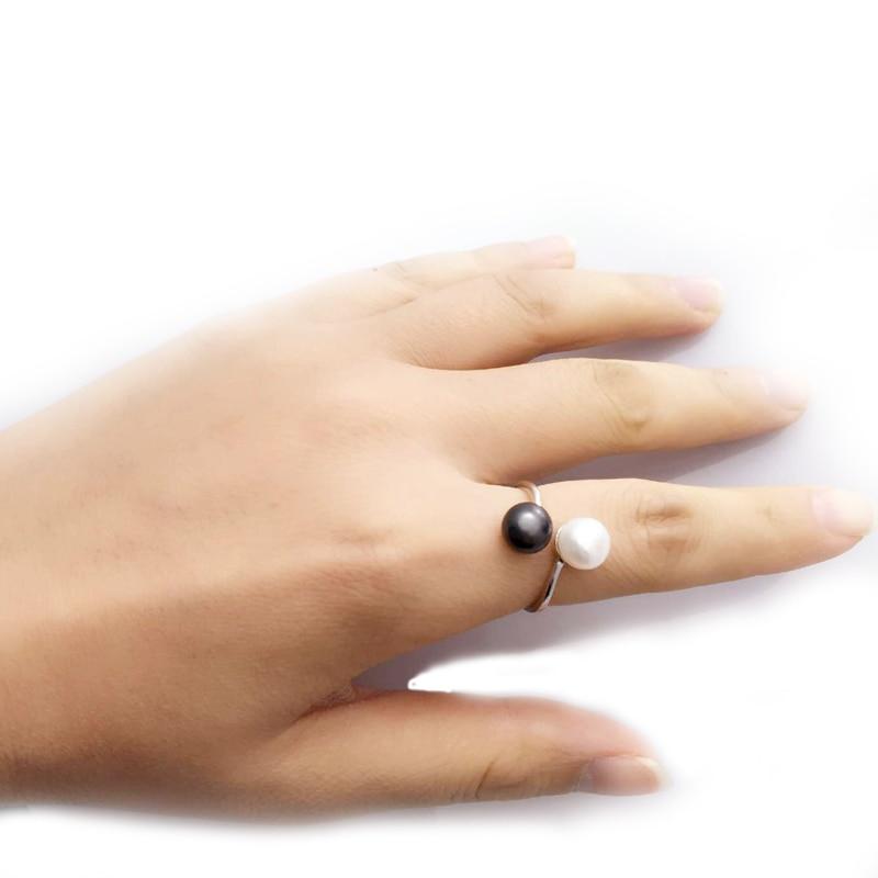 Pravi slatkovodni biser nakit set, prirodni biser setovi 925 sterling - Fine nakit - Foto 5