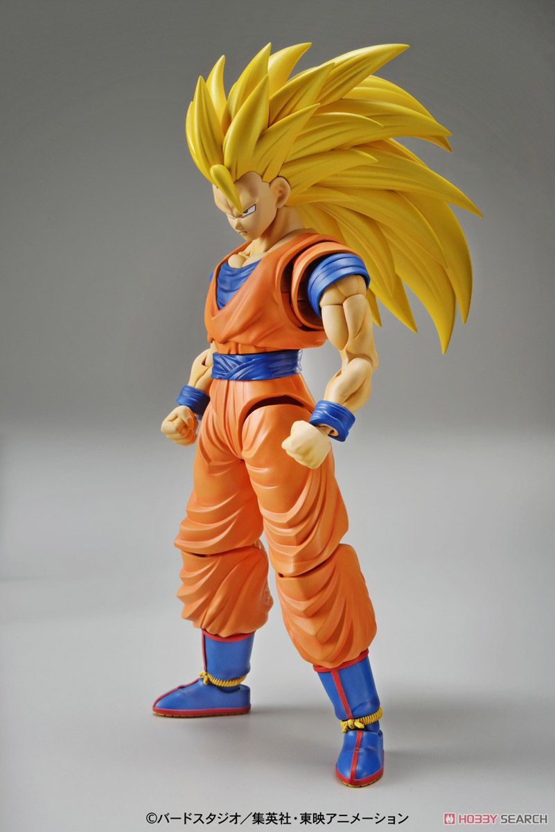 Bandai 1/144 Dragon Ball Z Figure Rise Standard Super Saiyan 3 Son Goku Plastic Model Scale Model toseek bicycle integrated horizontal handlebar stems 3k full carbon fibre bicycle one shaped handlebar mtb bike