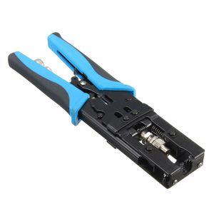Image 3 - Nowy 1pc trwałe narzędzie do zaciskania kompresji koncentryczne BNC/RCA/F złącze zaciskane RG59/58/6 kabel przecinak do drutu regulowany zaciskania Plie