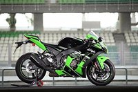 Зеленый черный белый впрыска обтекателя Для 2016 Kawasaki Ninja ZX 10R ZX10R