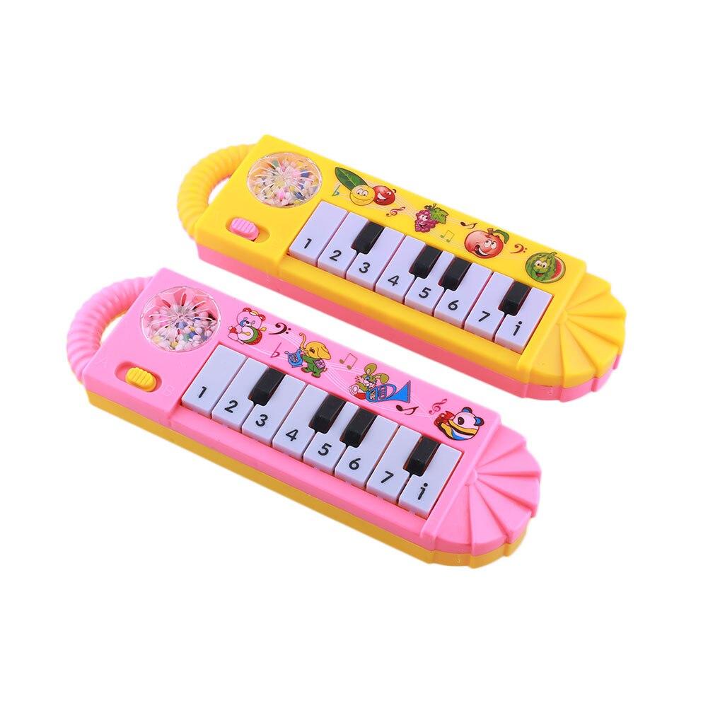 Красочная детская развивающая игрушка для малышей музыкальное пианино Развивающая игра