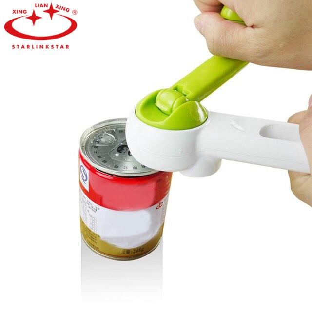 Starlinkstar 1 PC Conservas de Frutas Abridor Multi-Função 7 em 1 Abridor de garrafas Tab Soda Abridor de Make-up ferramentas de Acessórios de Cozinha Ferramenta