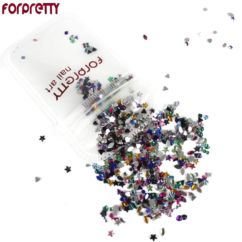 Nail Art Decorations Glitter Nails 3D Accessories Rhinestones Supplies Jewelry Decorazioni Unghie DIY Acrylic Tools Ongle Charms 1000pcs lot ab color marquise nail art rhinestones women decoration diy nail jewelry accessories 3d nail art supply tools wy505